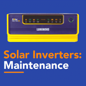 Solar Inverters Maintenance
